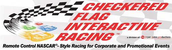 Checkered Flag Interactive Racing logo